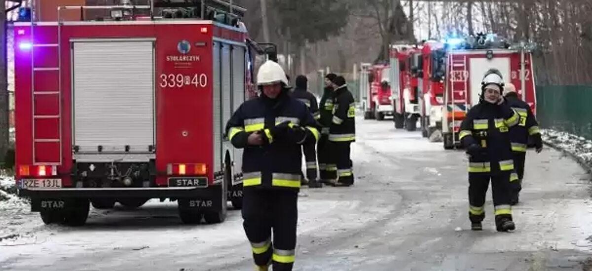 Tragiczny pożar w DPS w Górnie